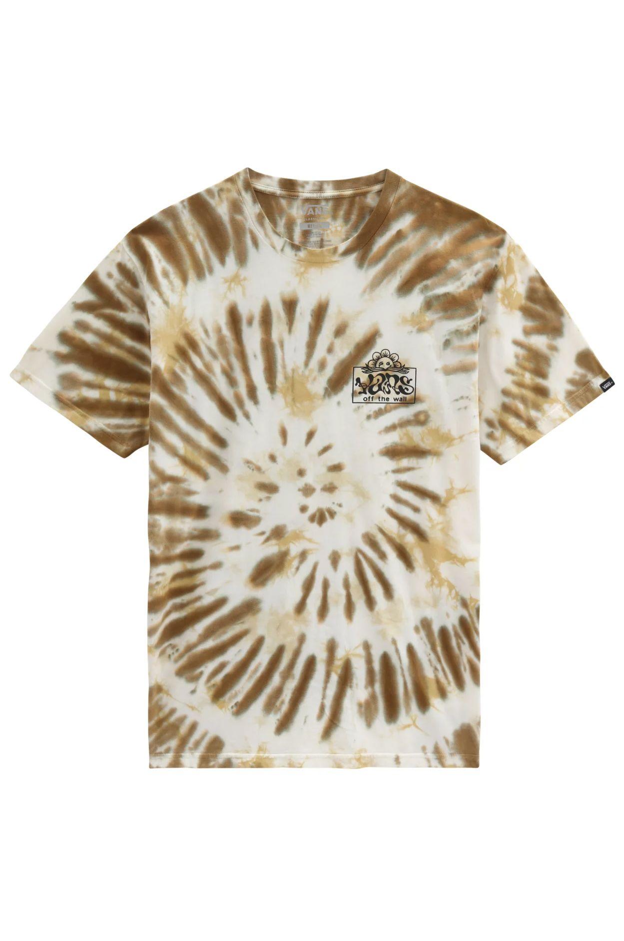 Vans T-Shirt LOOK AHEAD TIE DYE SS Nutria-Tie Dye