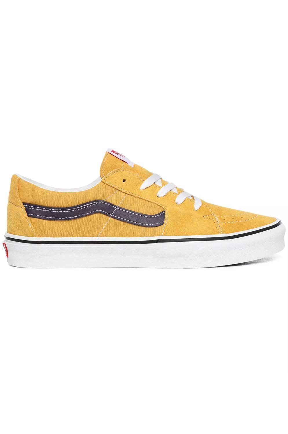 Vans Shoes UA SK8-LOW Honey Gold/Purple Velvet