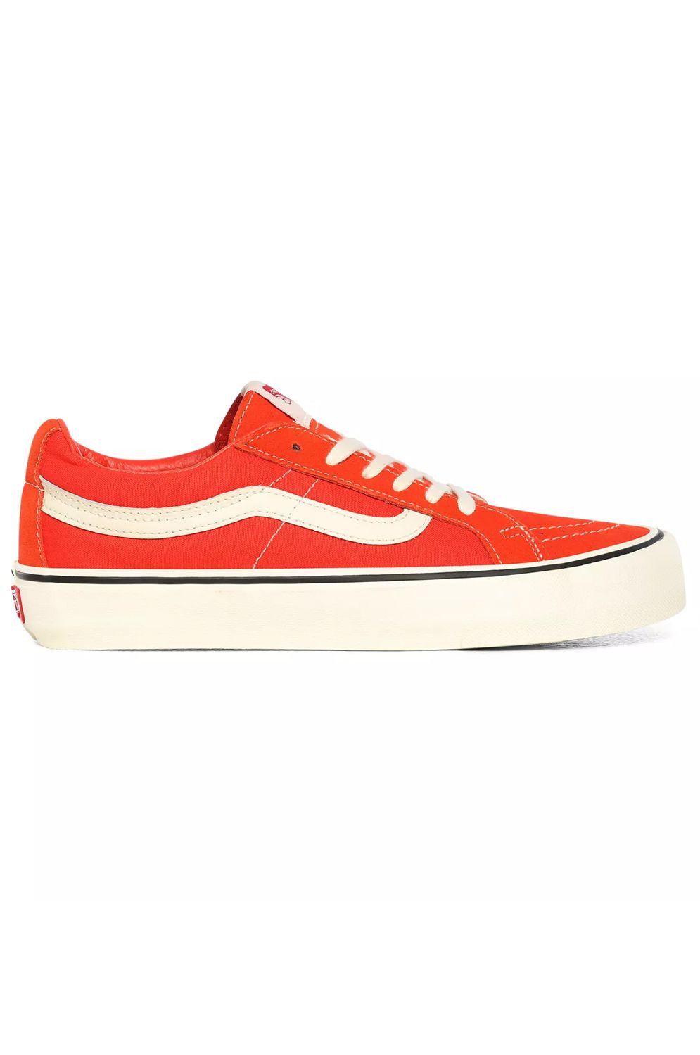 Vans Shoes UA SK8-LOW REISSUE SF Tomato/Antique White