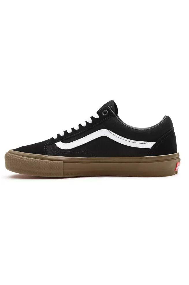 Vans Shoes MN SKATE OLD SKOOL Black/Gum