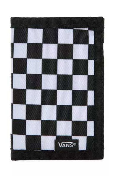 Carteira Vans SLIPPED Black-White Check