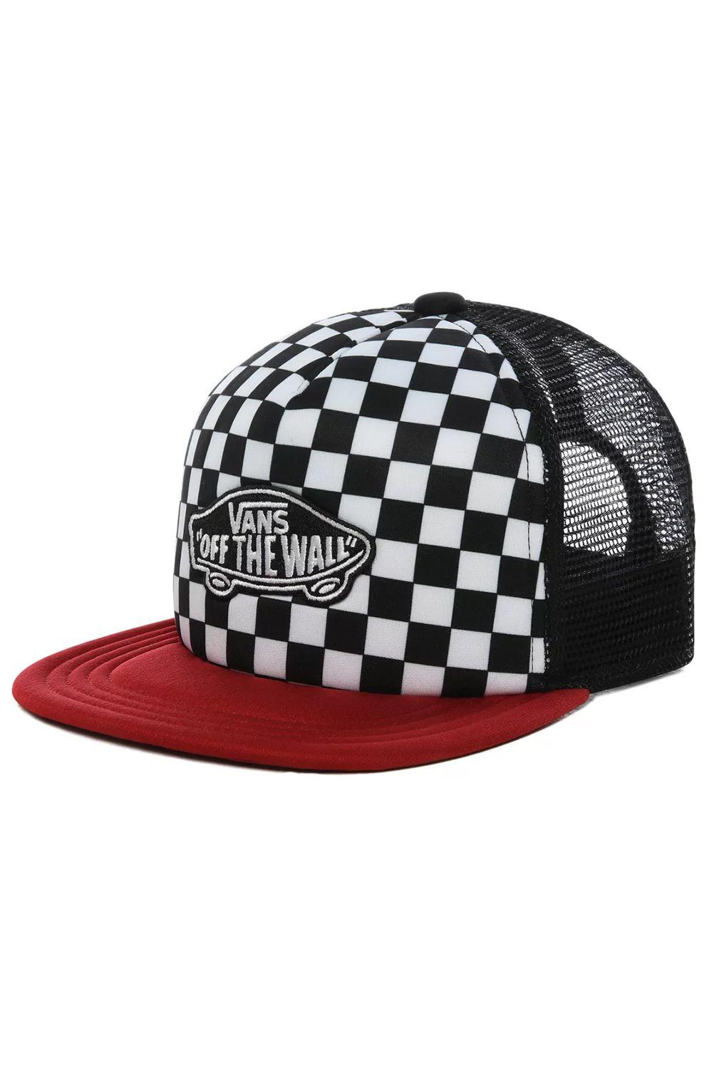 Vans Cap   CLASSIC PATCH TRUCKER PLUS BOYS Chili Pepper/Checkerboard