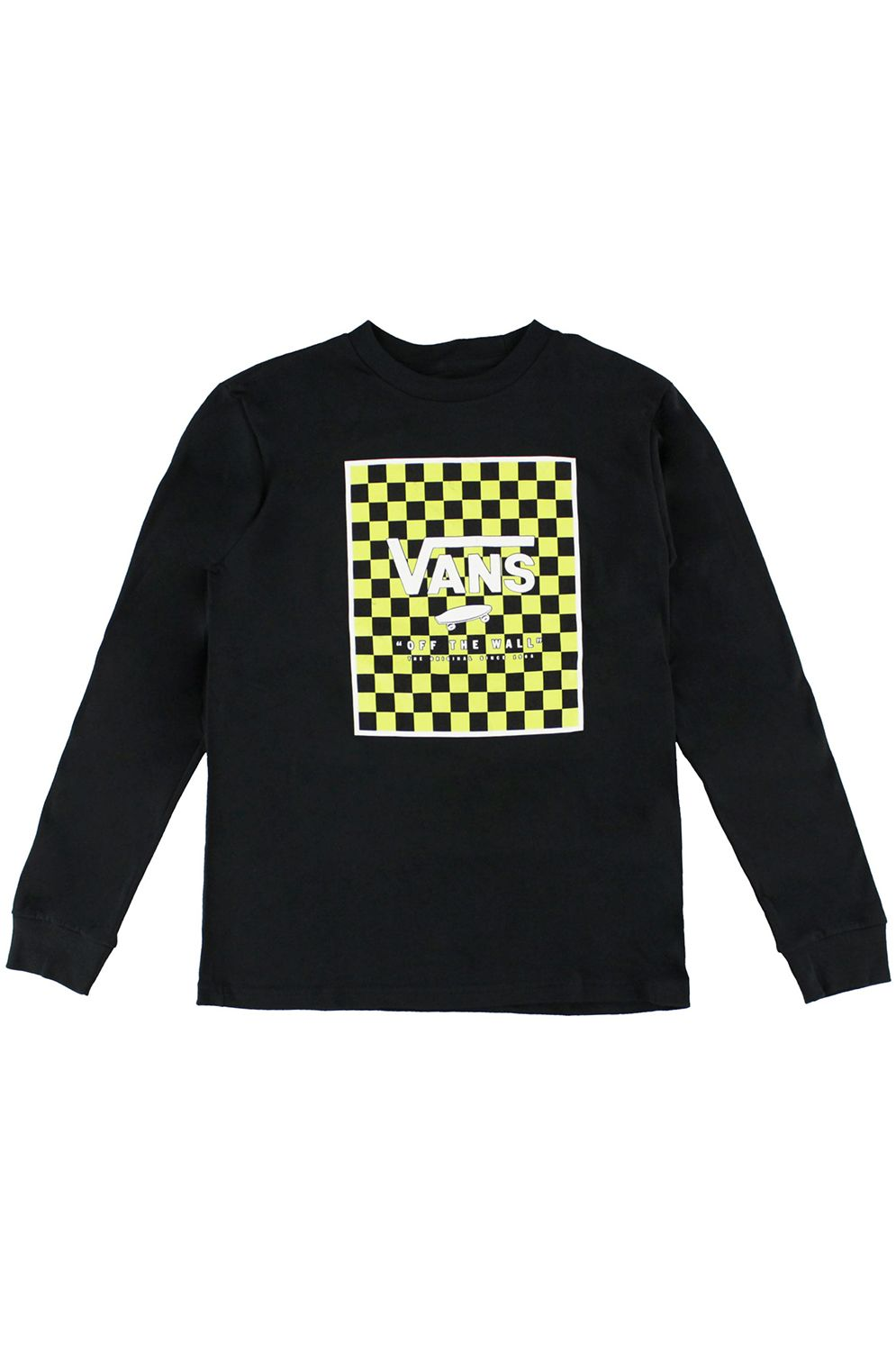 Vans L-Sleeve PRINT BOX Black/Sharp Green