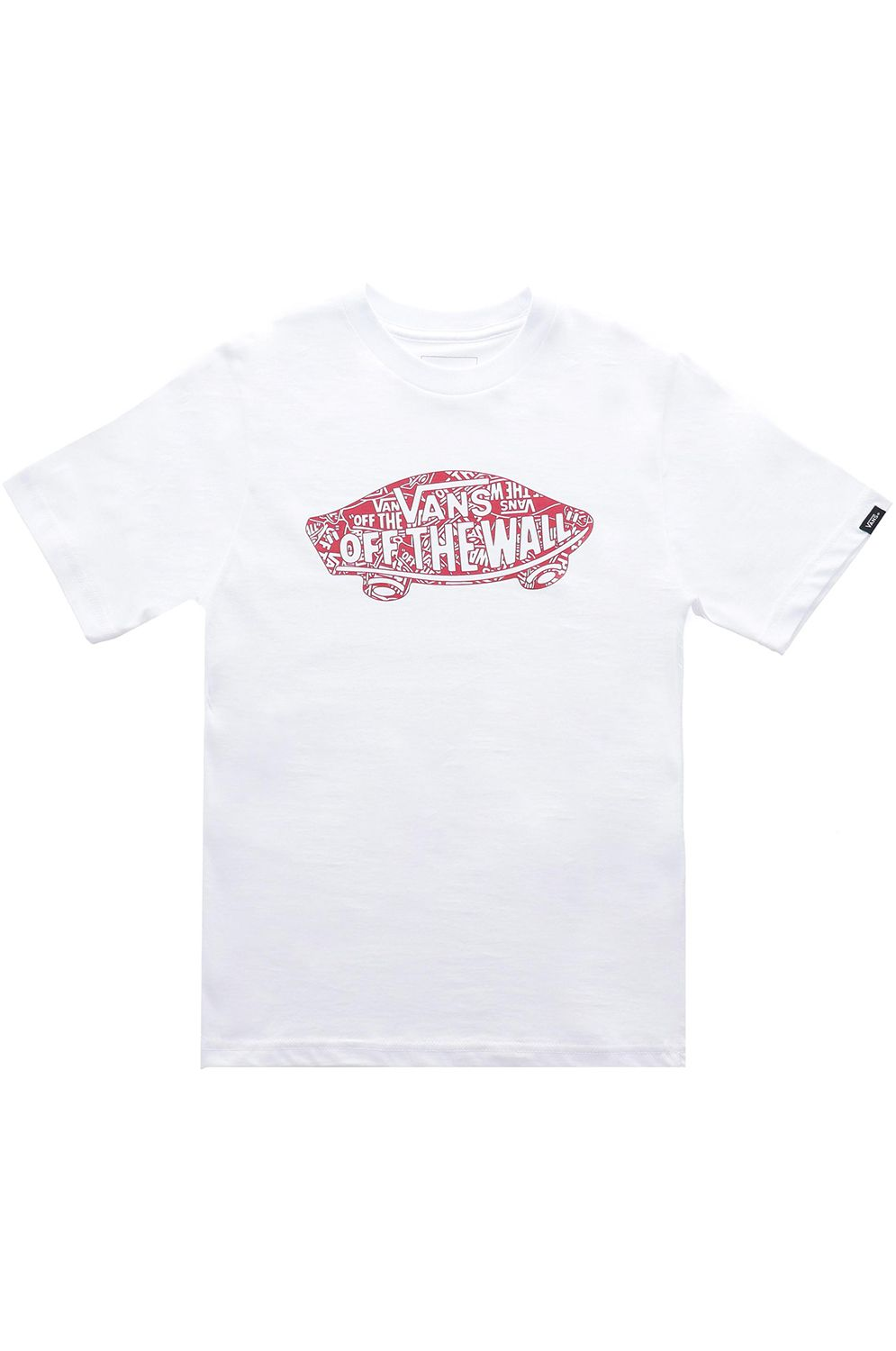 Vans T-Shirt OTW LOGO FILL White/Otw Racing Red