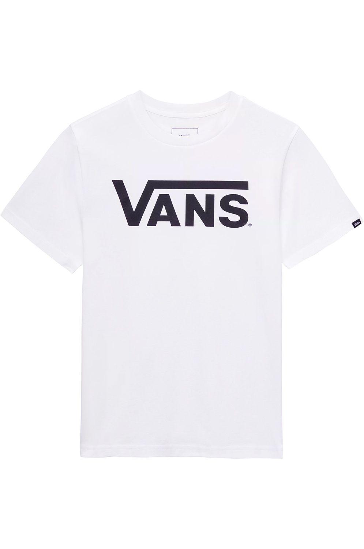 T-Shirt Vans VANS CLASSIC BOYS White-Black