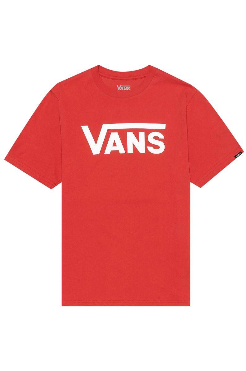 Vans T-Shirt VANS CLASSIC BOYS High Risk Red-White