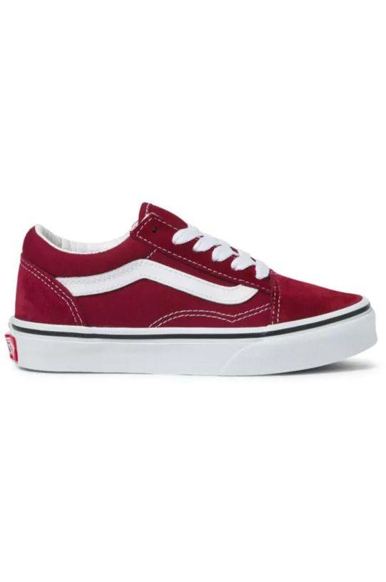Vans Shoes JN OLD SKOOL Pomegranate/True White