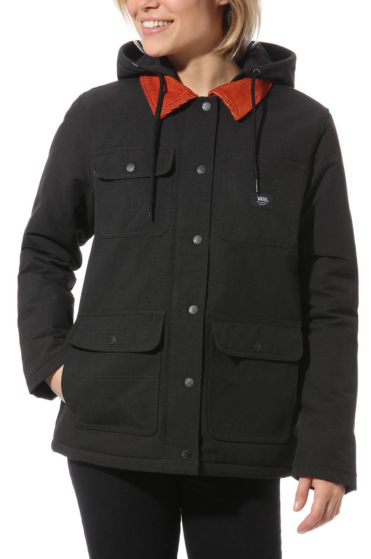 Vans Jacket DRILL CHORE COAT MTE Black