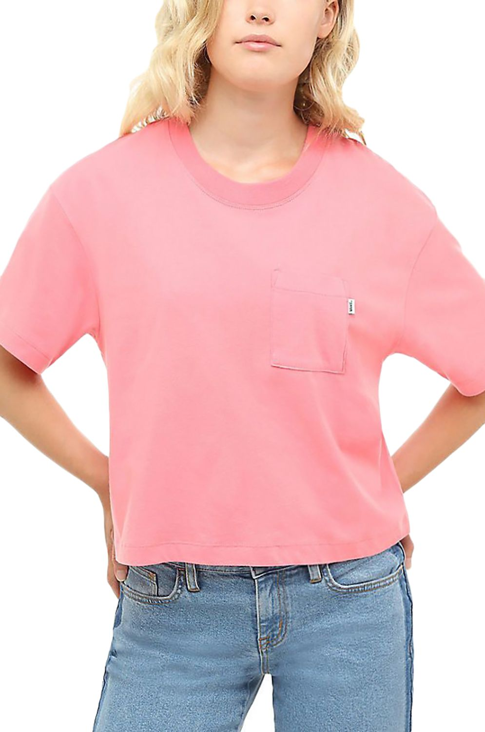 Vans T-Shirt BRUSH OFF TOP Strawberry Pink