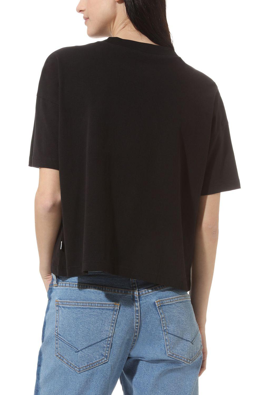 T-Shirt Vans SPACE CADET Black