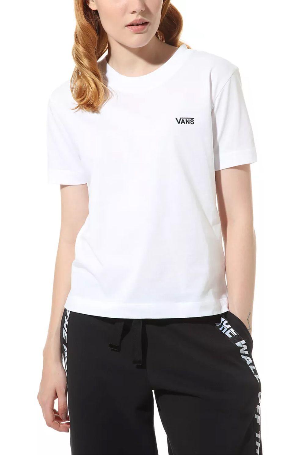 Vans T-Shirt JUNIOR V BOXY White