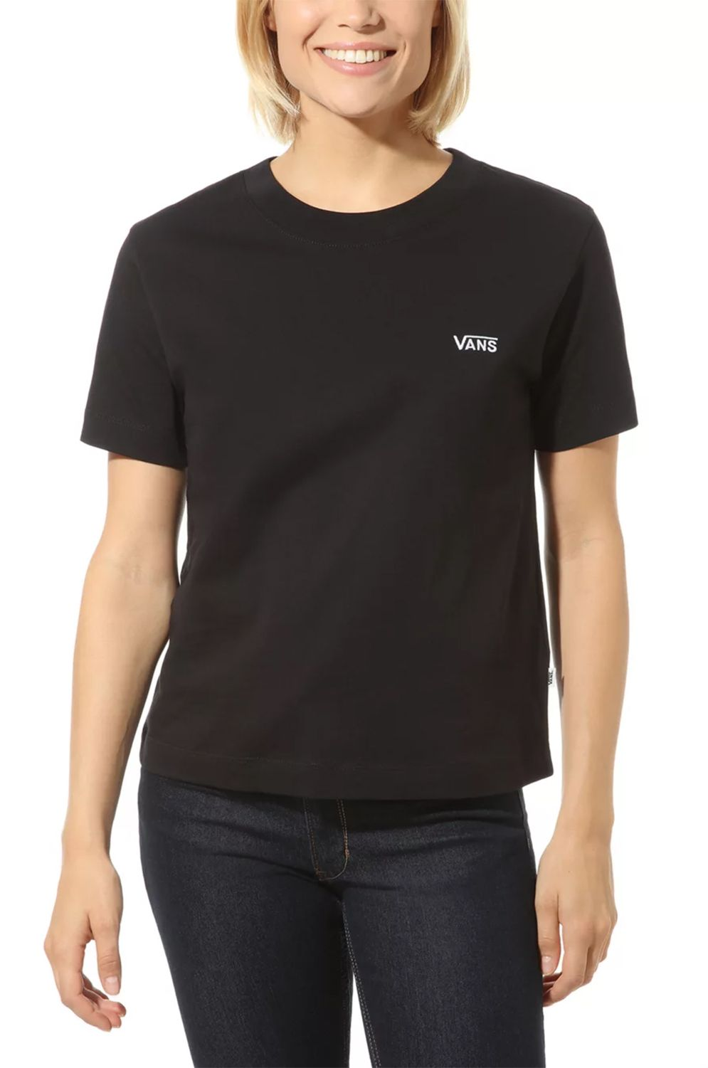 Vans T-Shirt JUNIOR V BOXY Black