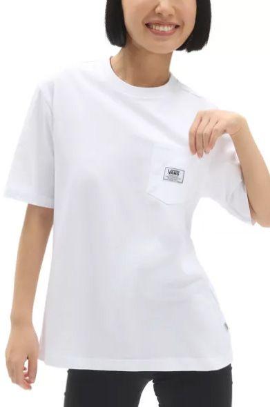 Vans T-Shirt CLASSIC PATCH POCKET White