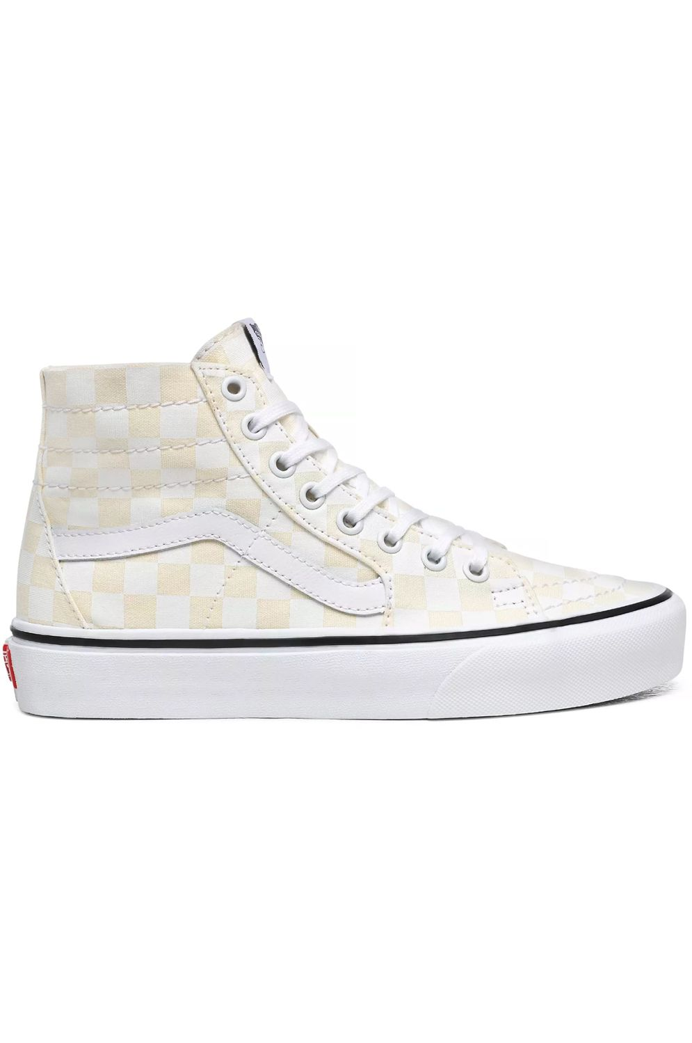 Vans Shoes SK8-HI TAPERED (Checkerboard) White/True White