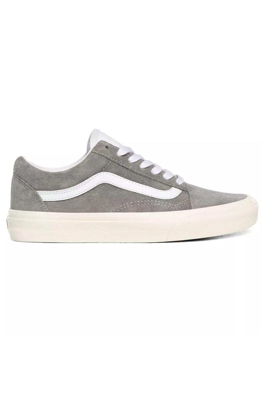 Vans Shoes UA OLD SKOOL (Pig Suede) Drizzle/Snow White