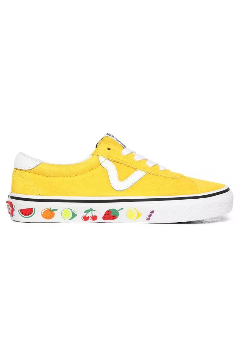Vans Shoes UA VANS SPORT (Sidewall Print) Fruits/True White
