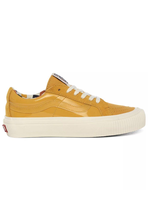 Vans Shoes UA SK8-LOW REISSUE SF (Karina Rozunko) Patent/Honey Gold
