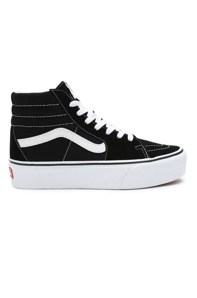 Vans Shoes UA SK8-HI PLATFORM 2.0 Black/True White