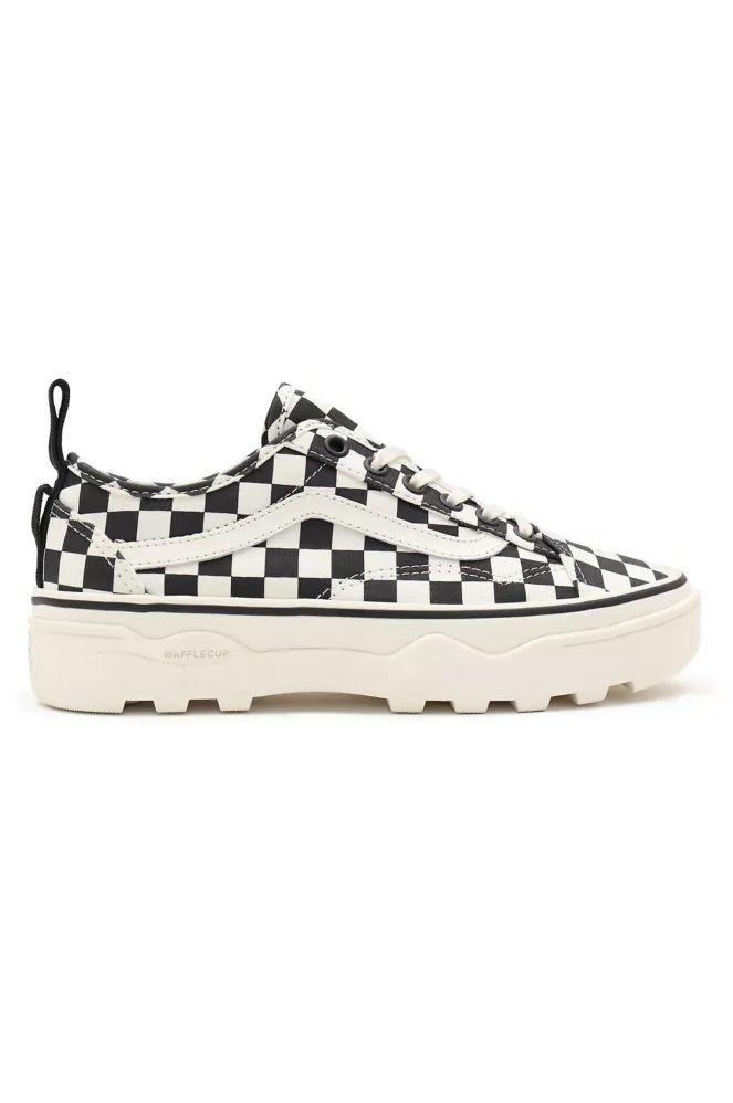 Vans Shoes UA SENTRY OLD SKOOL WC (Checkerboard) Marshmallow/Black