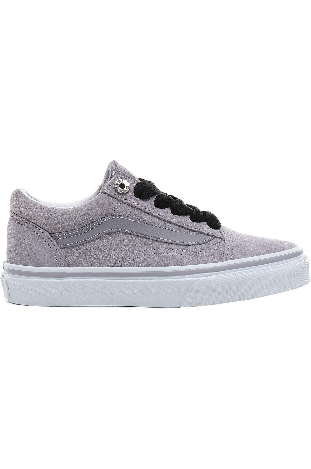 Vans Shoes OLD SKOOL (Jewel Eyelets) Lilac Gray/True White