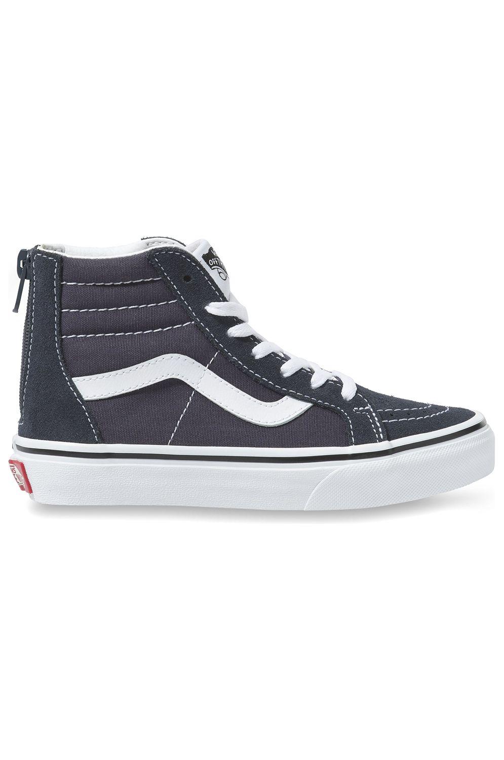 Vans Shoes UY SK8-HI ZIP India Ink/True White