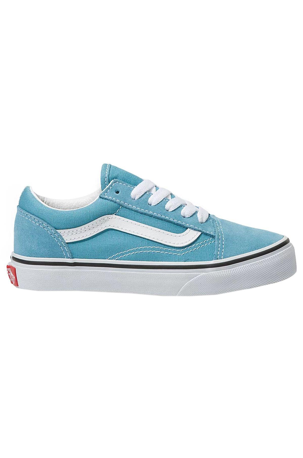 Vans Shoes JN OLD SKOOL Delphinium Blue/True White