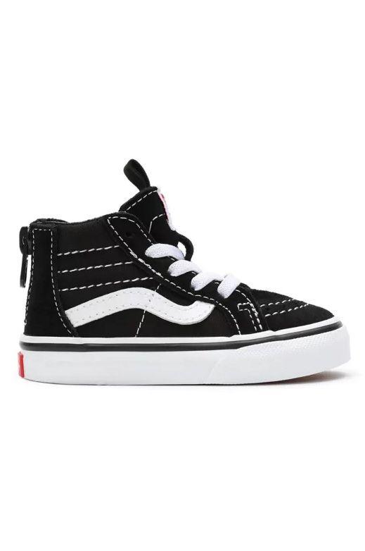Vans Shoes TD SK8-HI ZIP Black/White