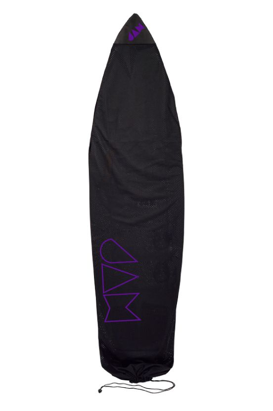 Capa Jam 6?0 - 6?3 SUPER LIGHT AIR CIRCULATED MESH BOARD SOCK Purple Logo