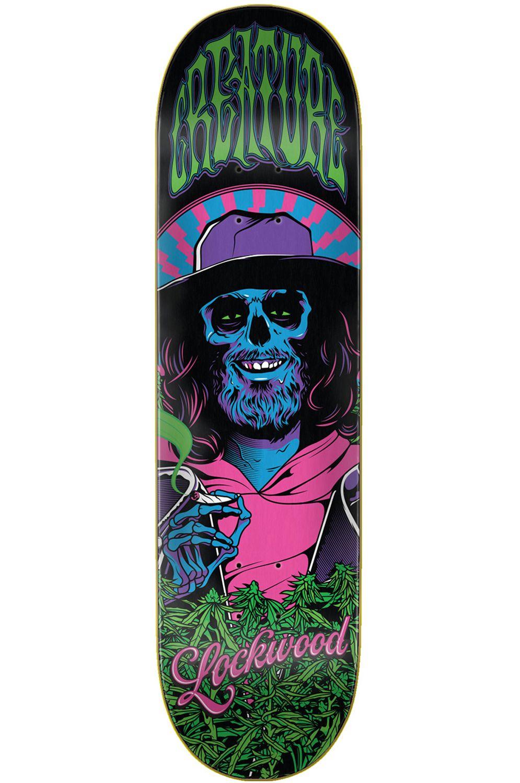 "Creature Skate Board SMOKERS CLUB LOCKWOOD 8.25"" x 32.04"" Black"