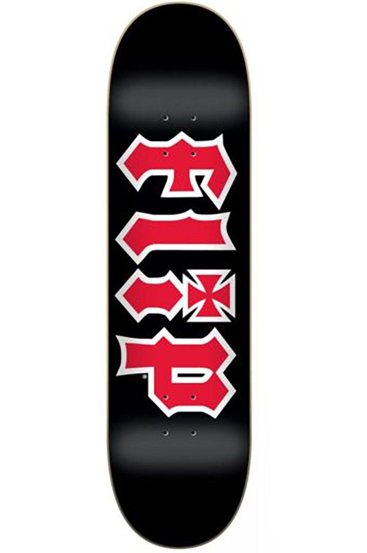 """Flip Skate Board 8"""" X 31.5"""" TEAM HKD Black"""