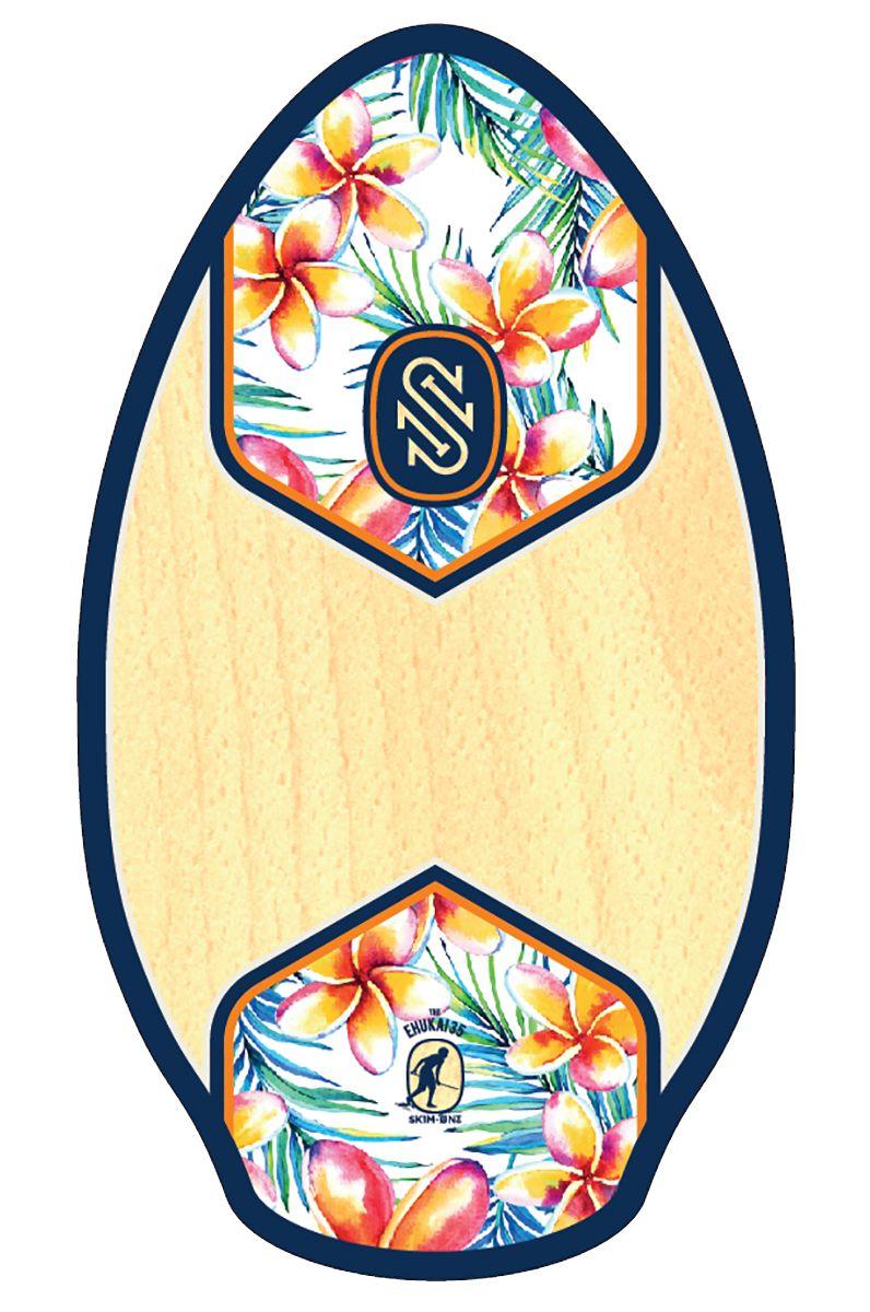 "Prancha Skimming Skim One 35"" WOOD Ehukai Navy/Orange"