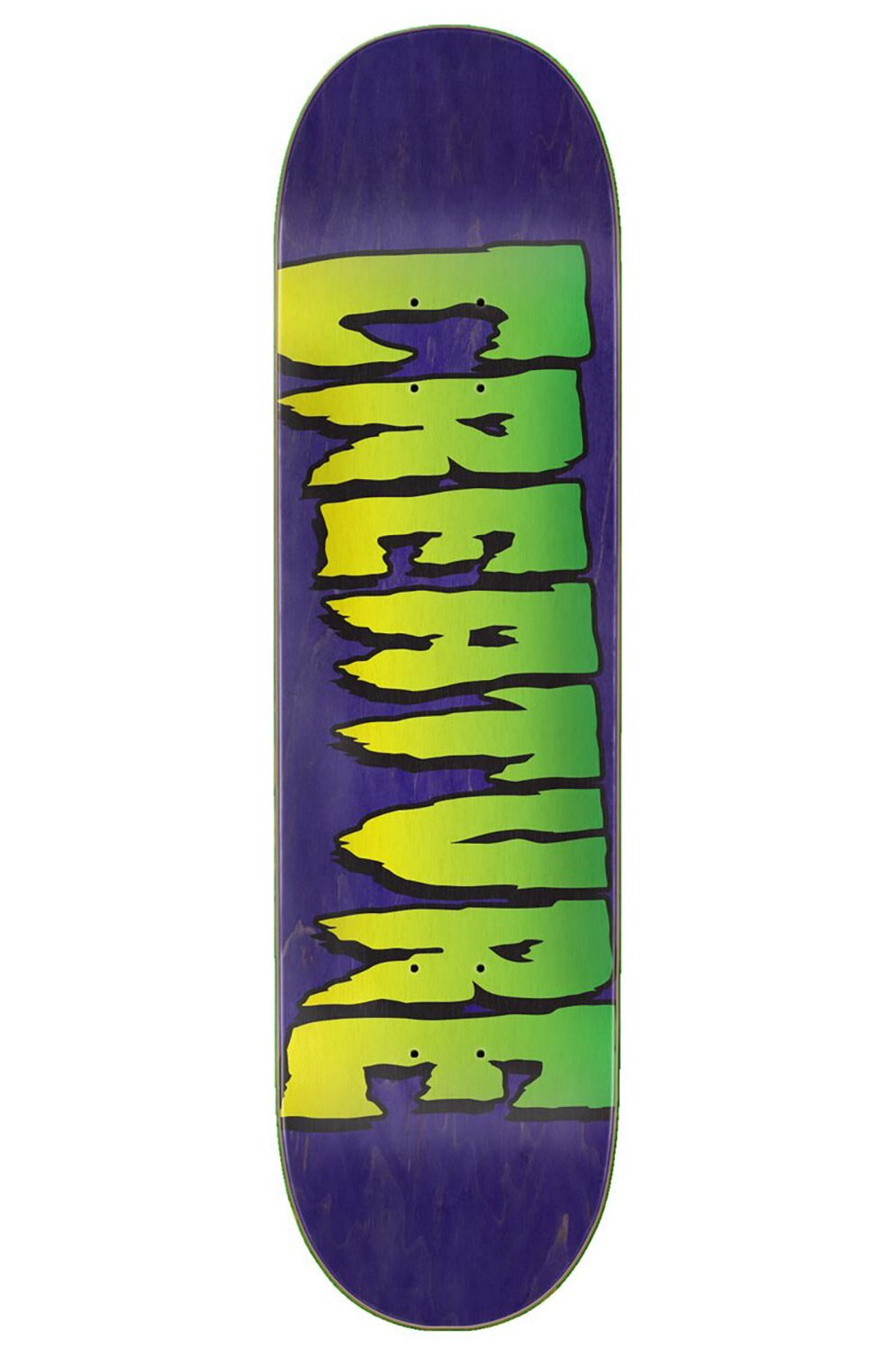 "Creature Skate Board LOGO STUMP 8.25"" x 31.8"" Purple"