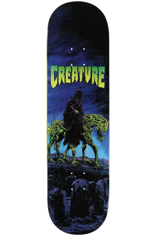 """Tabua Creature CORPSE HORSE COLDPRESS 8.375"""" x 32.15"""" Purple"""