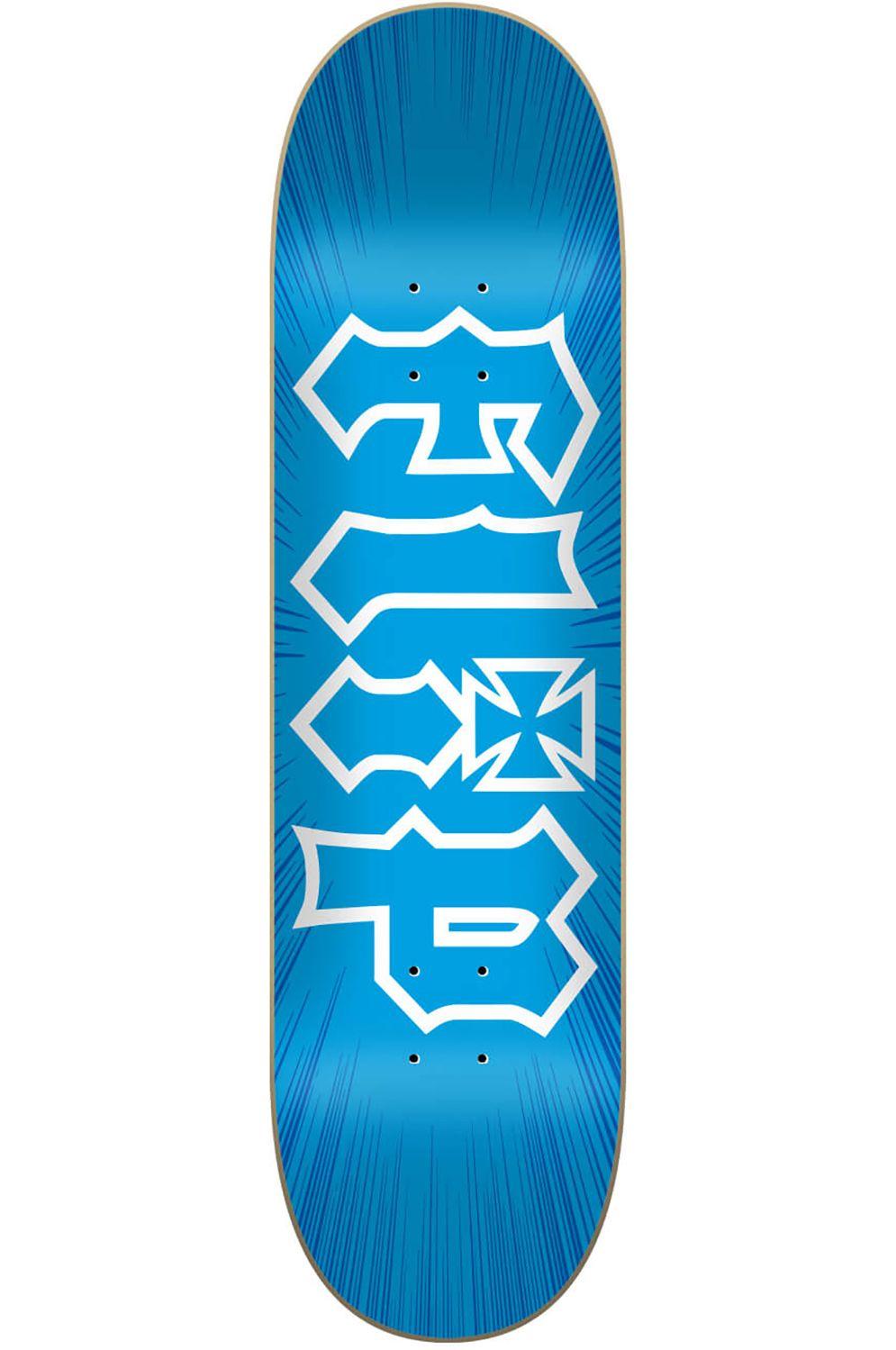 """Flip Skate Board 8.45"""" X 32"""" HKD BURST Blue"""