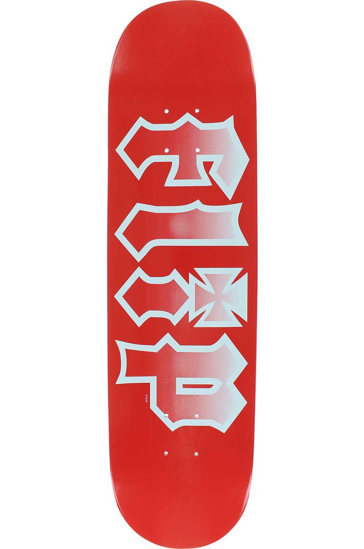 """Flip Skate Board 8"""" X 31.5"""" HKD FADED Red"""