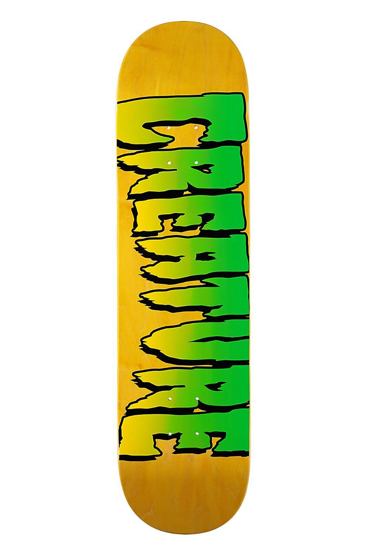 "Creature Skate Board LOGO STUMPS 8"" X 31.5"" Assorted"