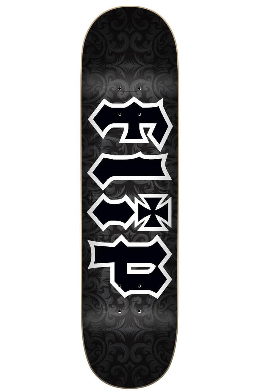 "Flip Skate Board 8.25"" X 32.125"" HKD GOTHIC BLACK Assorted"