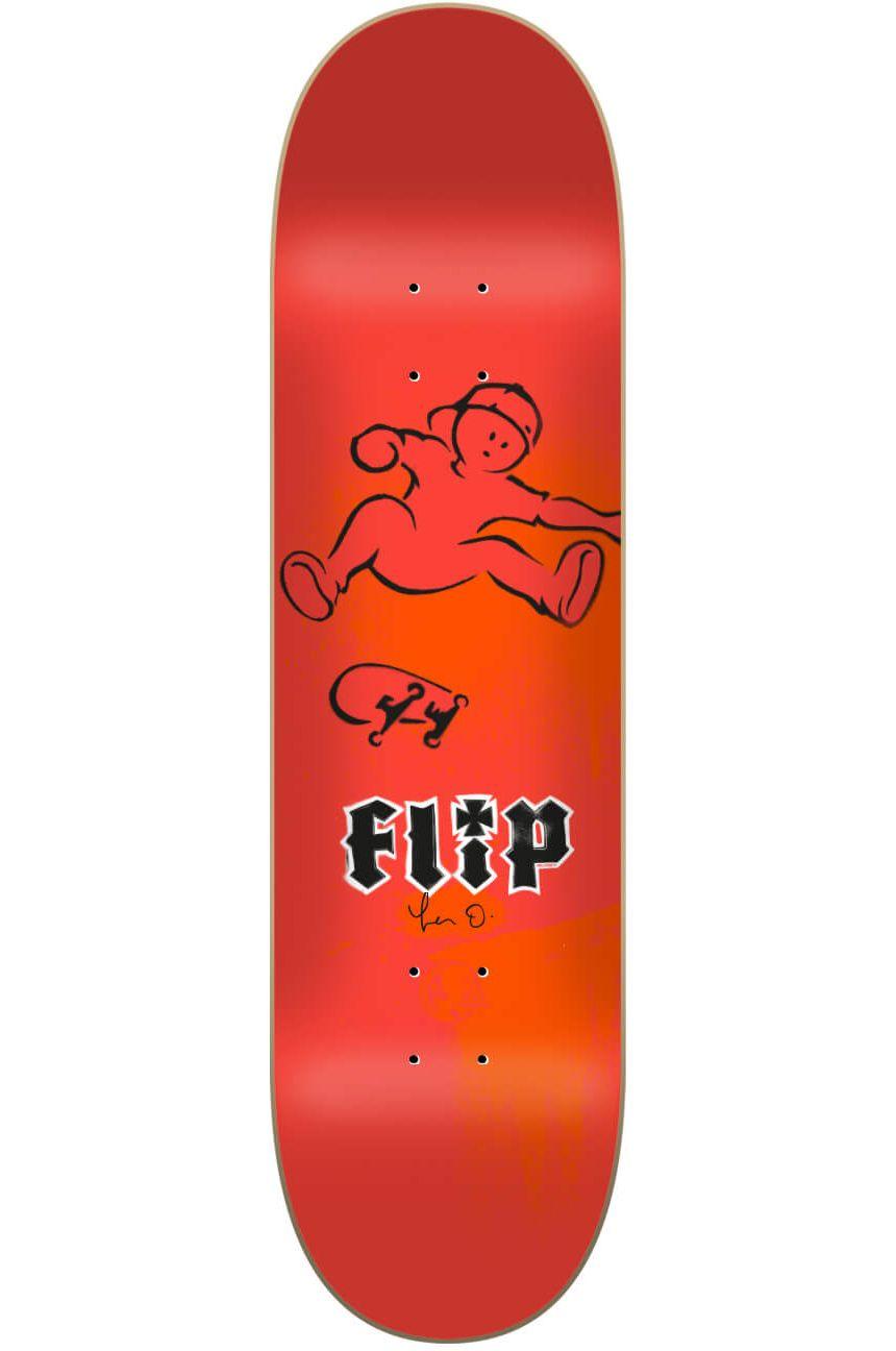 "Flip Skate Board 8.13"" X 32"" OLIVEIRA DOUGHBOY Assorted"