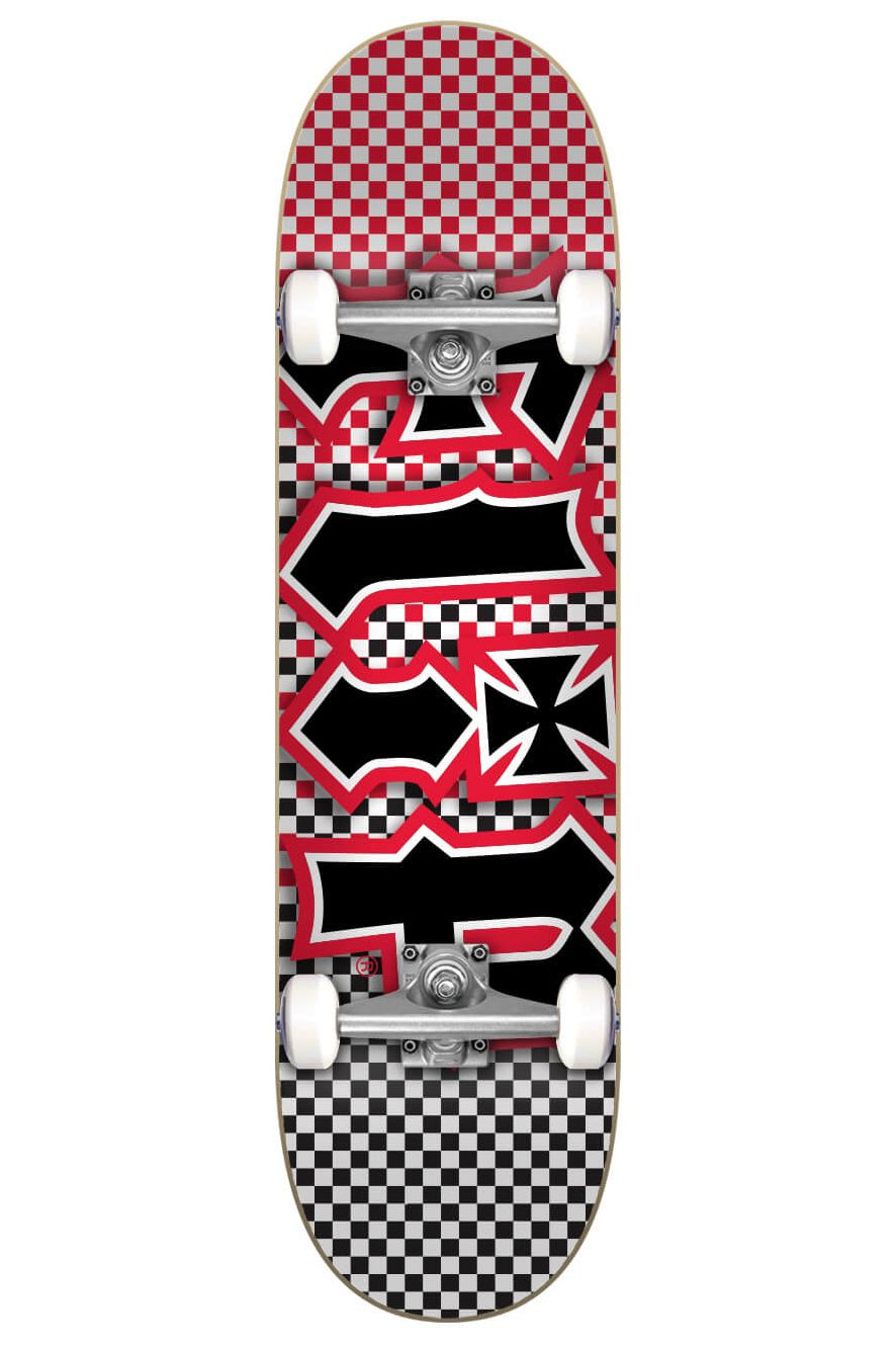 "Street Skate Flip 7.87"" X 31.6"" HKD FAST TIMES RED Assorted"