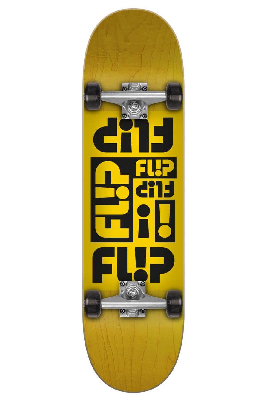 "Street Skate Flip 7.87"" X 31.6"" MULTI ODSSEY YELLOW Assorted"