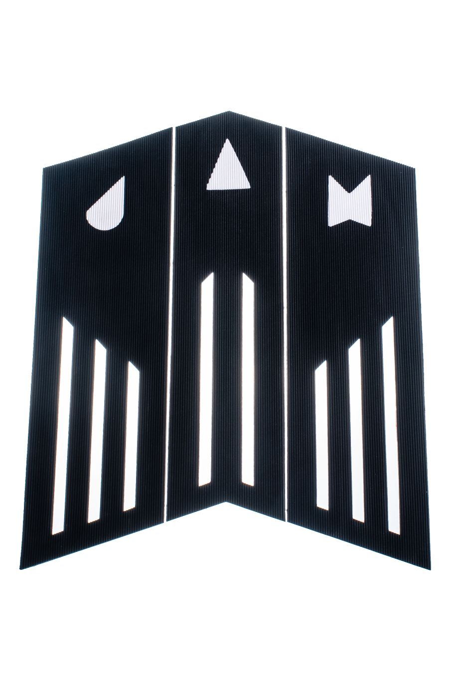 Jam Deck FRONT PAD 3 PIECE Black/White