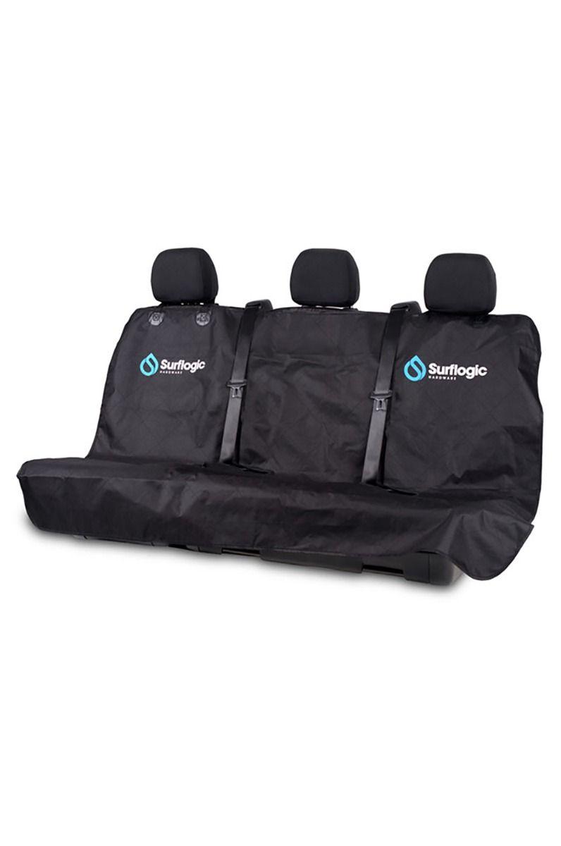 DV Surf Logic WATERPROOF CAR SEAT COVER TRIPLE CLIP SYSTEM Black
