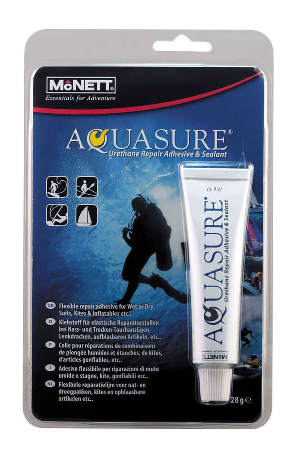 McNett Repair Kit AQUASURE Assorted