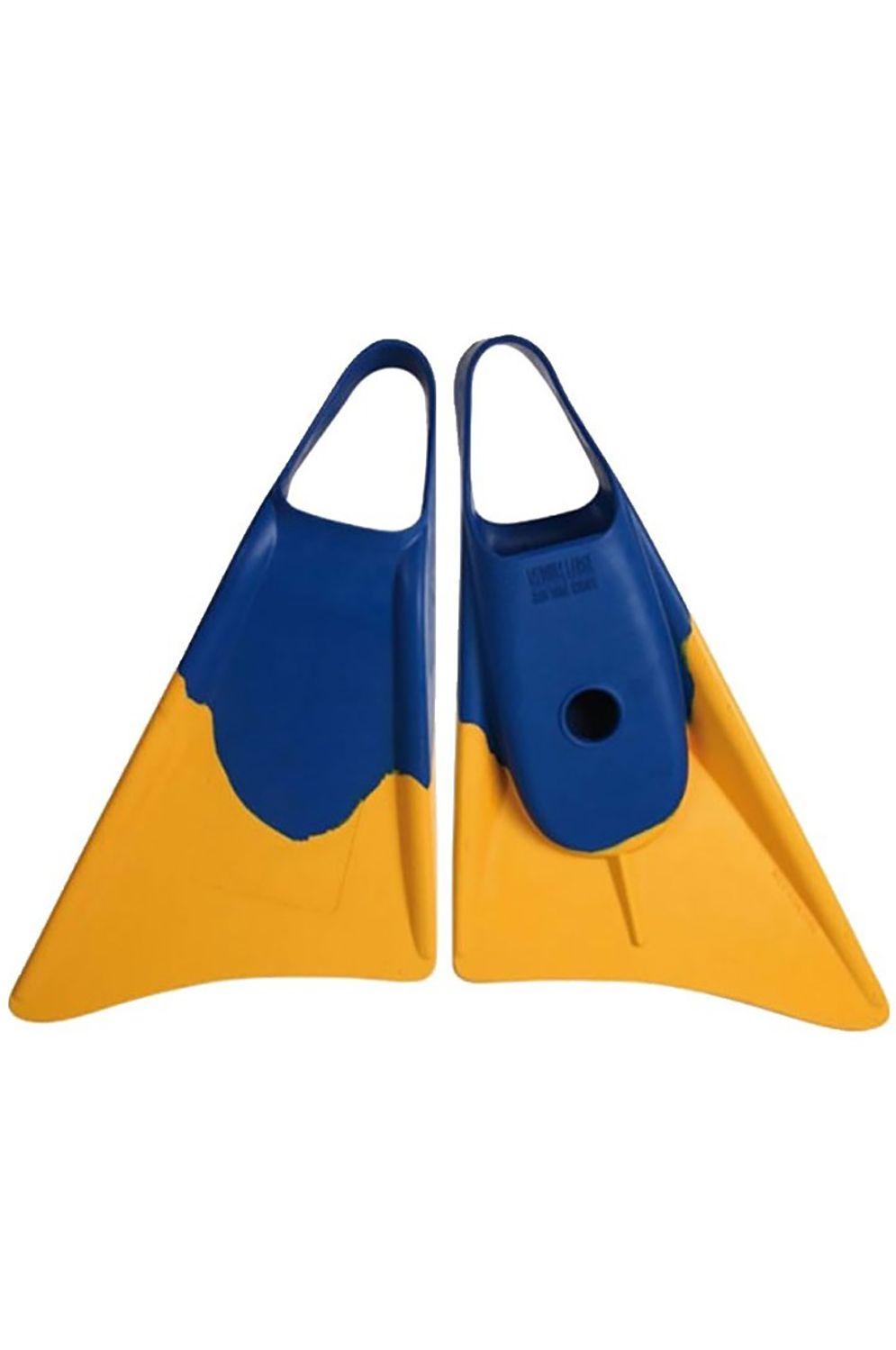 Weapon Bodyboard Fins SWINFINS Blue/Yellow