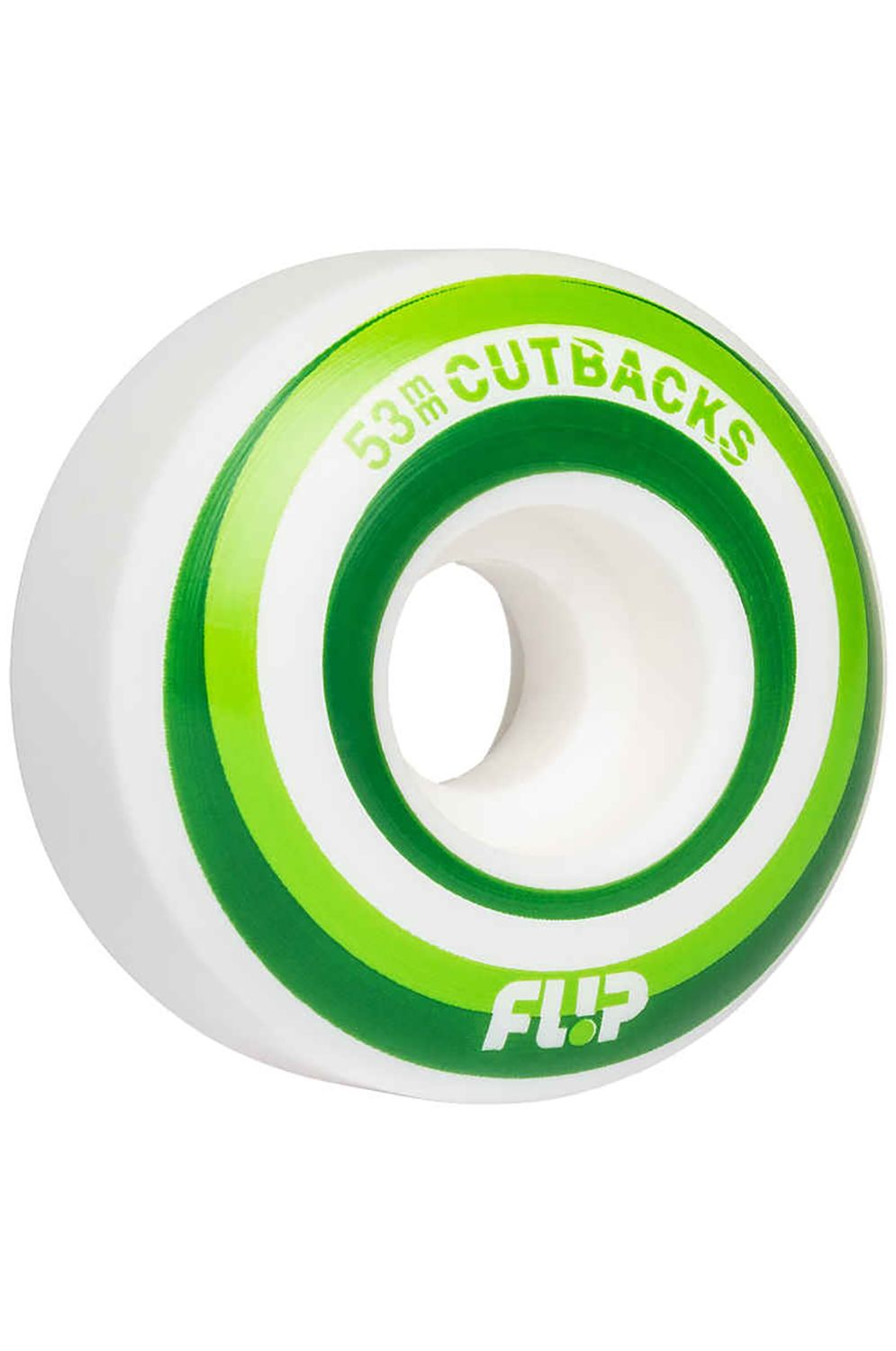 Rodas Flip CUTBACK 53MM 99A Green