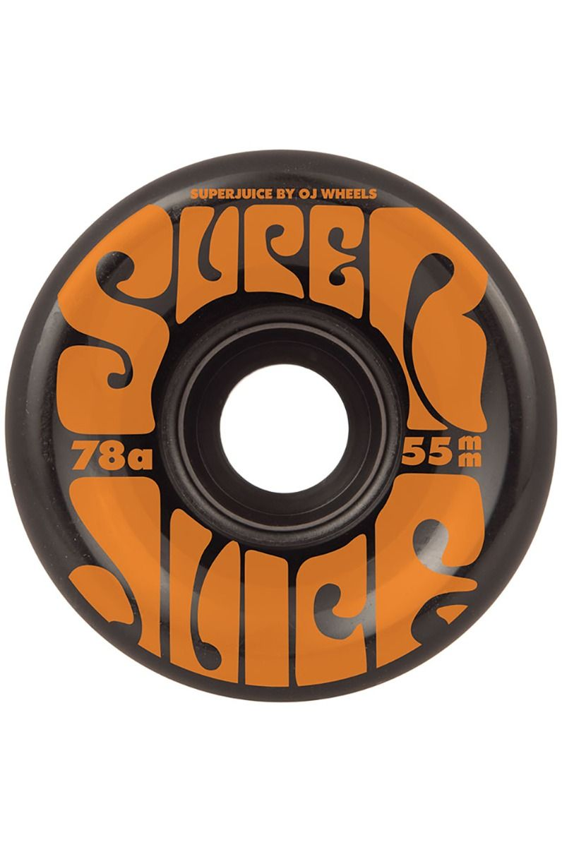 Rodas OJ Wheels 55MM MINI SUPER JUICE BLACK 78A Black