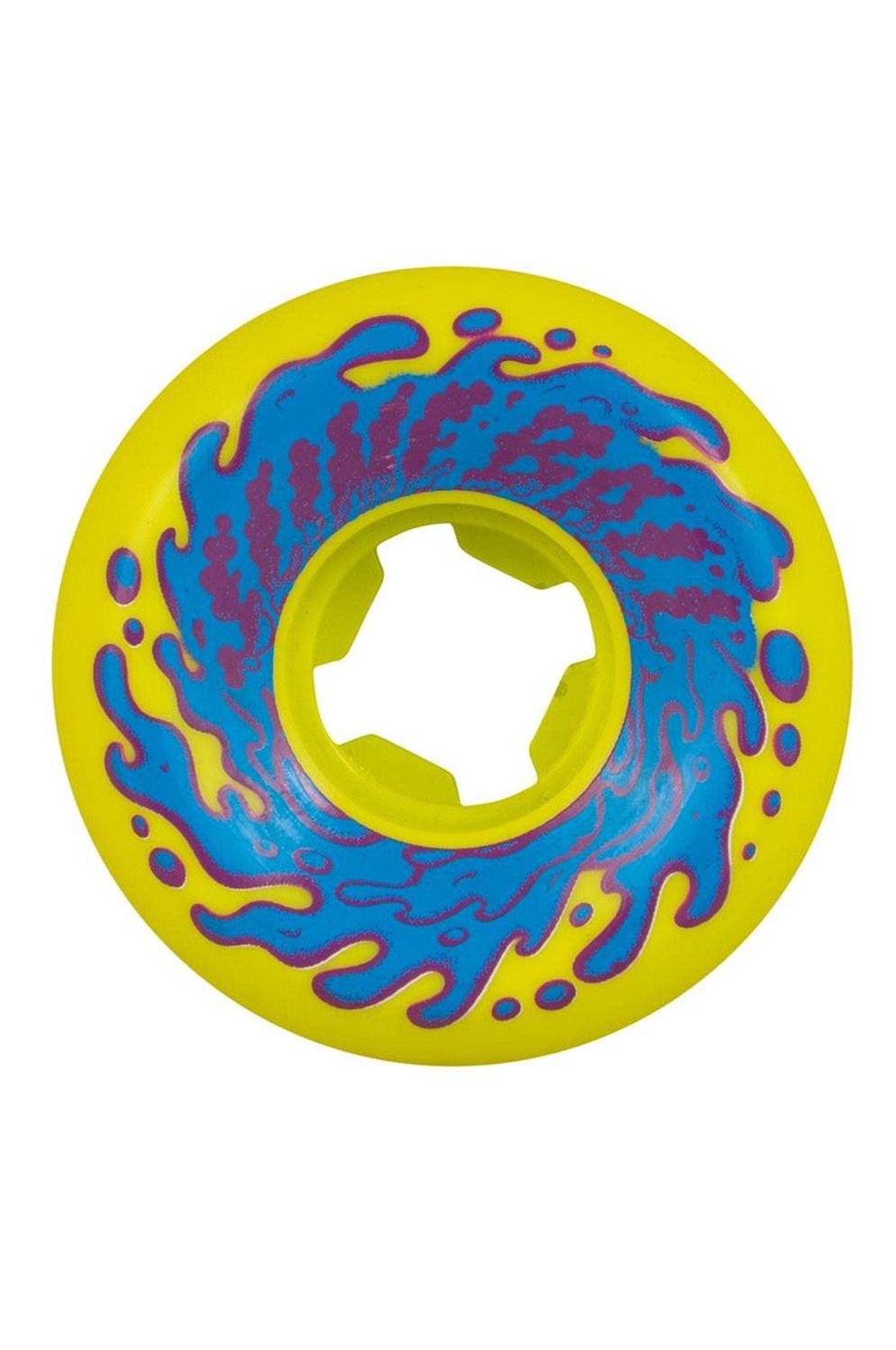 Rodas Slime Balls 53MM DOUBLE TAKE VOMIT MINI 97A Yellow