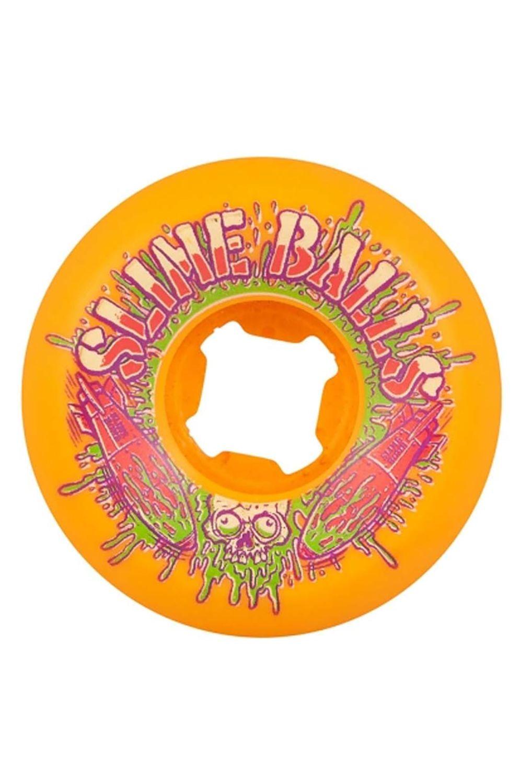 Rodas Slime Balls 54MM SLIME BOMBS SPEED BALLS 99A Orange