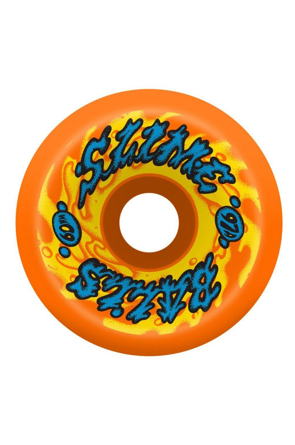 Slime Balls Skate Wheels 60MM GOOOBERZ VOMITS ORANGE 97A Assorted