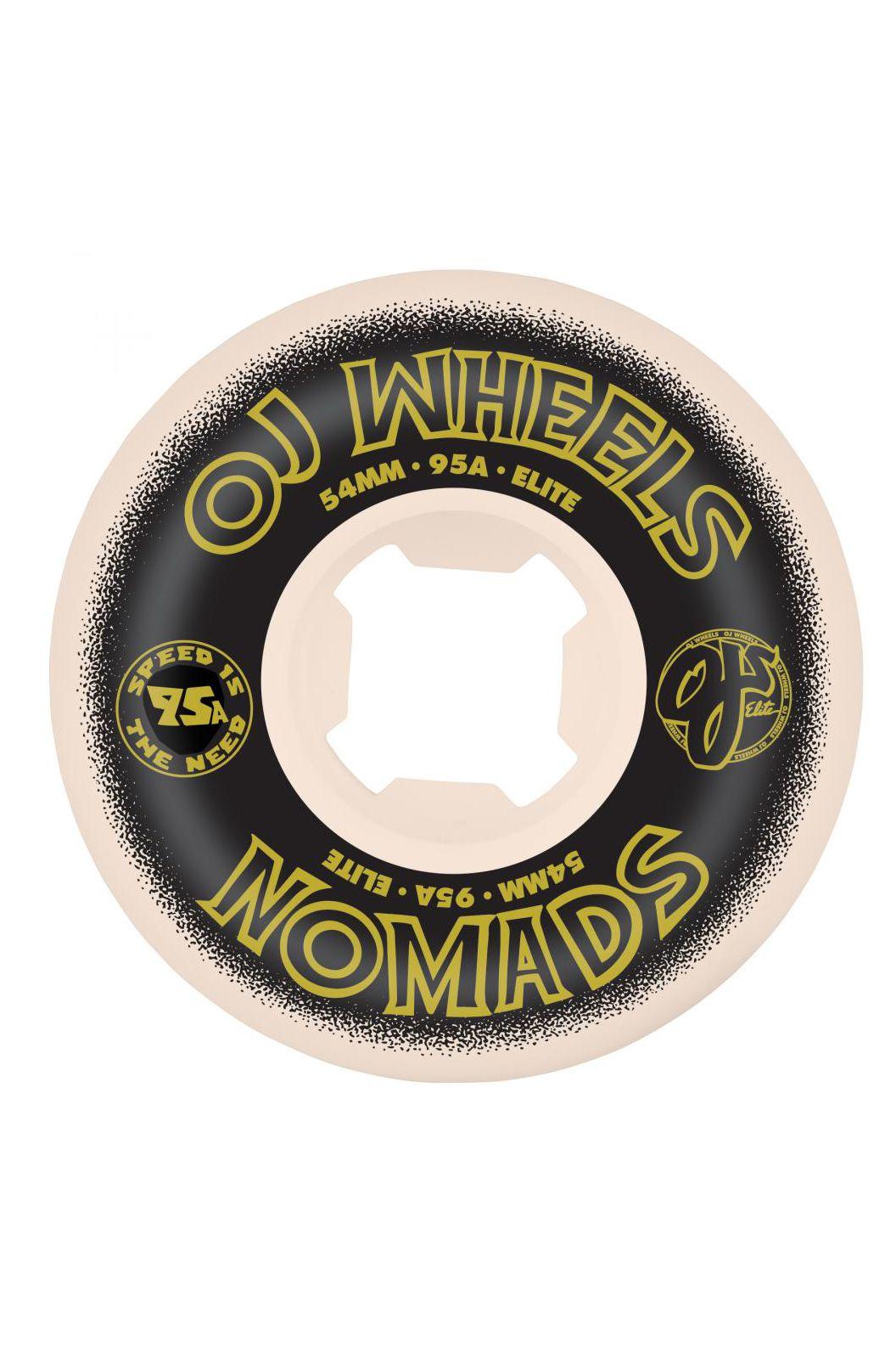 Rodas OJ Wheels 54MM ELITE NOMADS 95A Multi